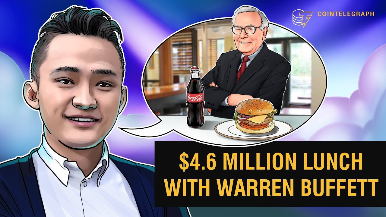 $4.6 Million Lunch With Warren Buffett   Interview With Tron CEO Justin Sun