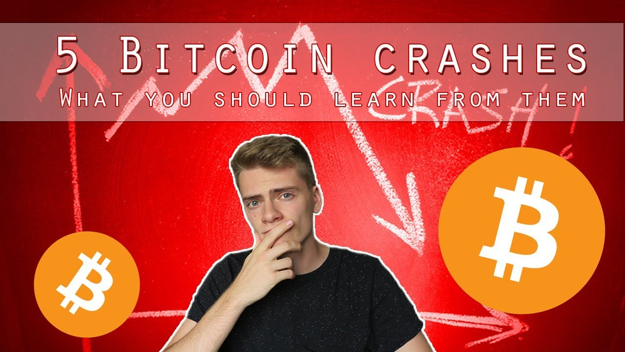 5 Bitcoin crashes - What we should learn from them