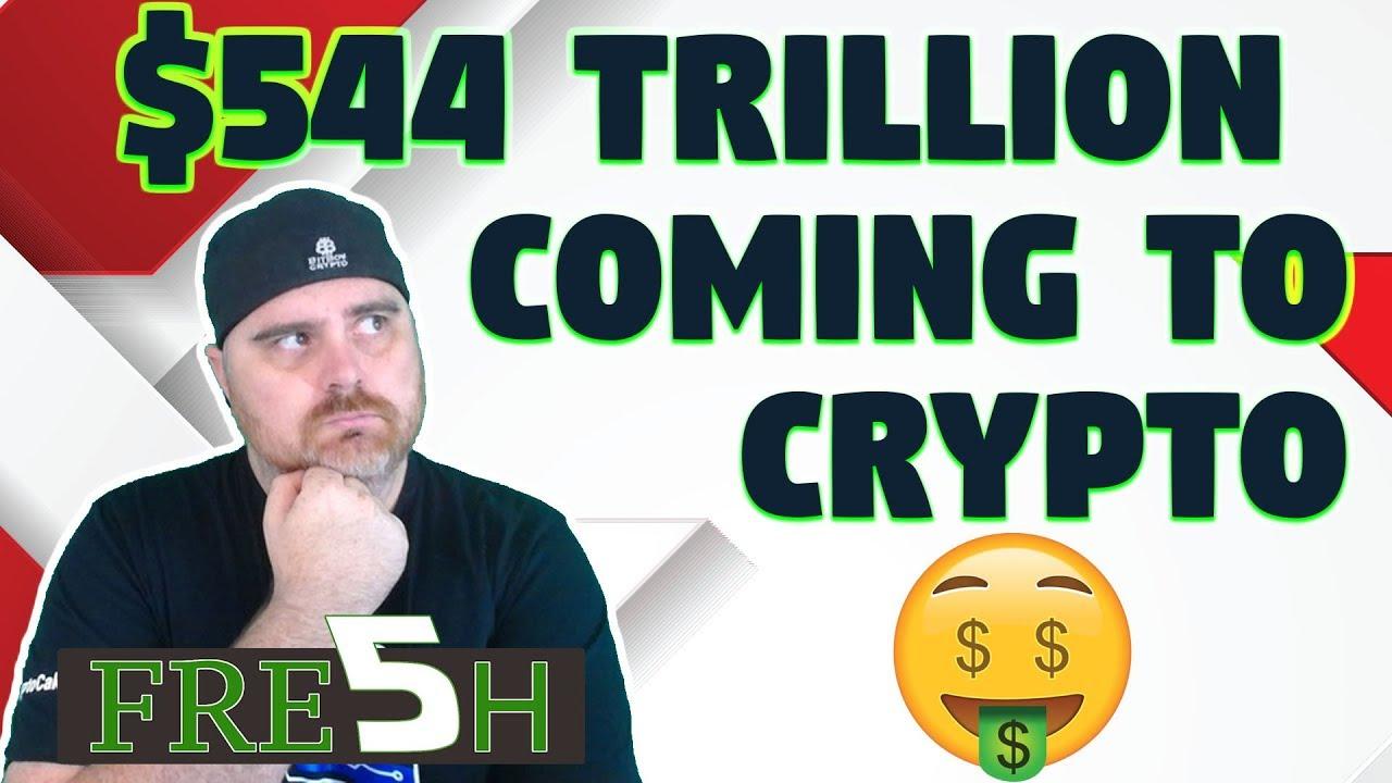 $544 Trillion Coming Into Crypto? | $DGB & $ELA vs Binance | SEC vs Devs