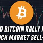 A Major Shift | Could Bitcoin rally from a stock market sell-off?