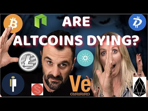 ALTCOINS DYING? BTC and CRYPTO Rebounding ? LTC / EOS / ADA
