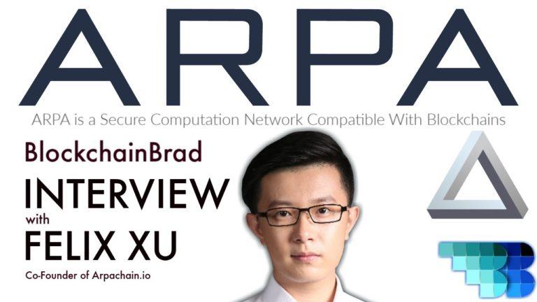 ARPA   Exclusive BlockchainBrad Interview   Multi-party Computation   Layer 2 Blockchain Solution