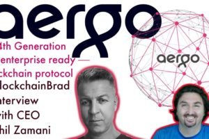 Aergo Blockchain | Exclusive Interview | Phil Zamani | BlockchainBrad | Crypto news