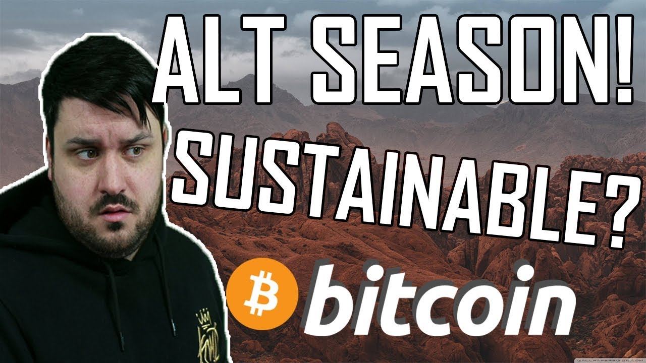 Altcoin Season! - Why? Sustainable?