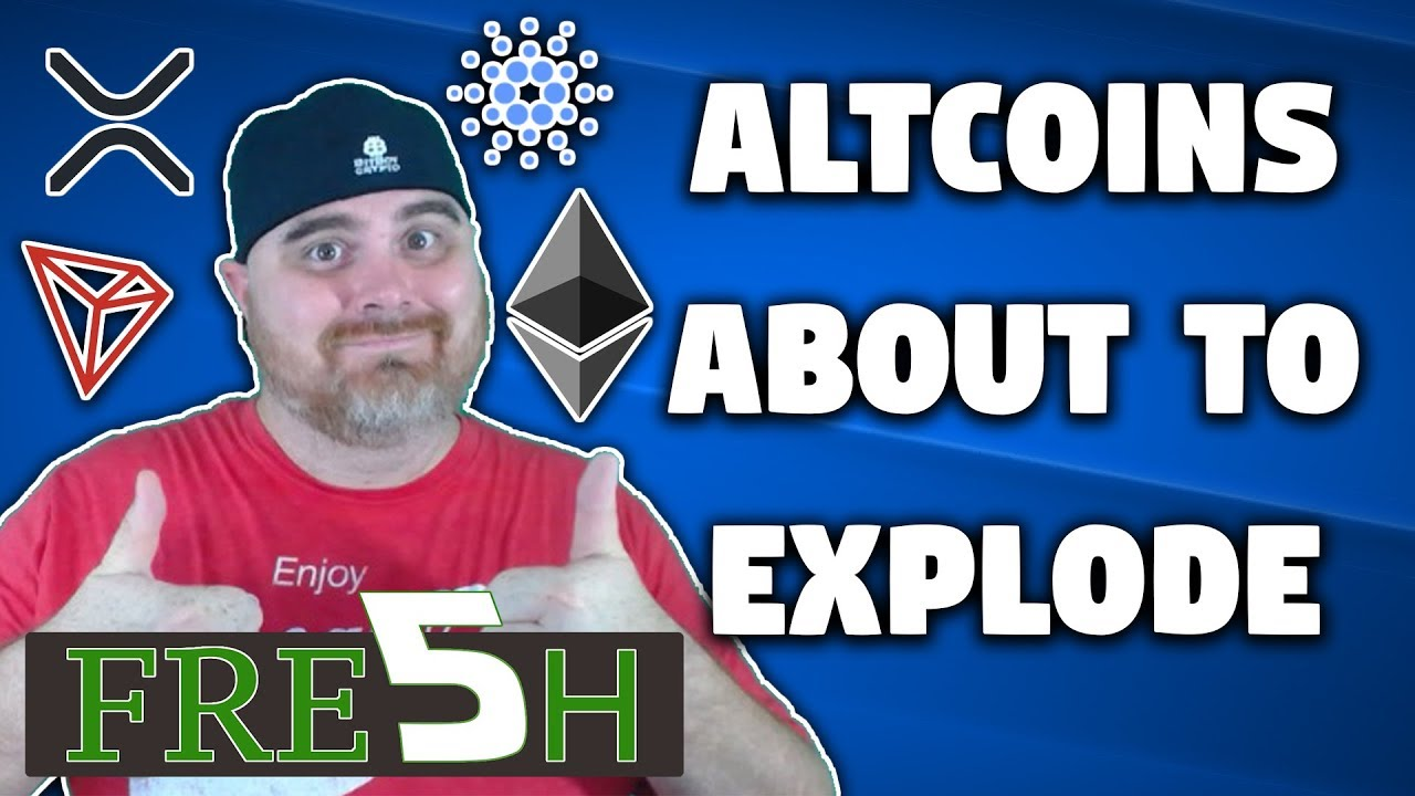 Altcoins About to Explode | Bitcoin Heading to $10k? | IOST Free BERM Airdrop | $BAT
