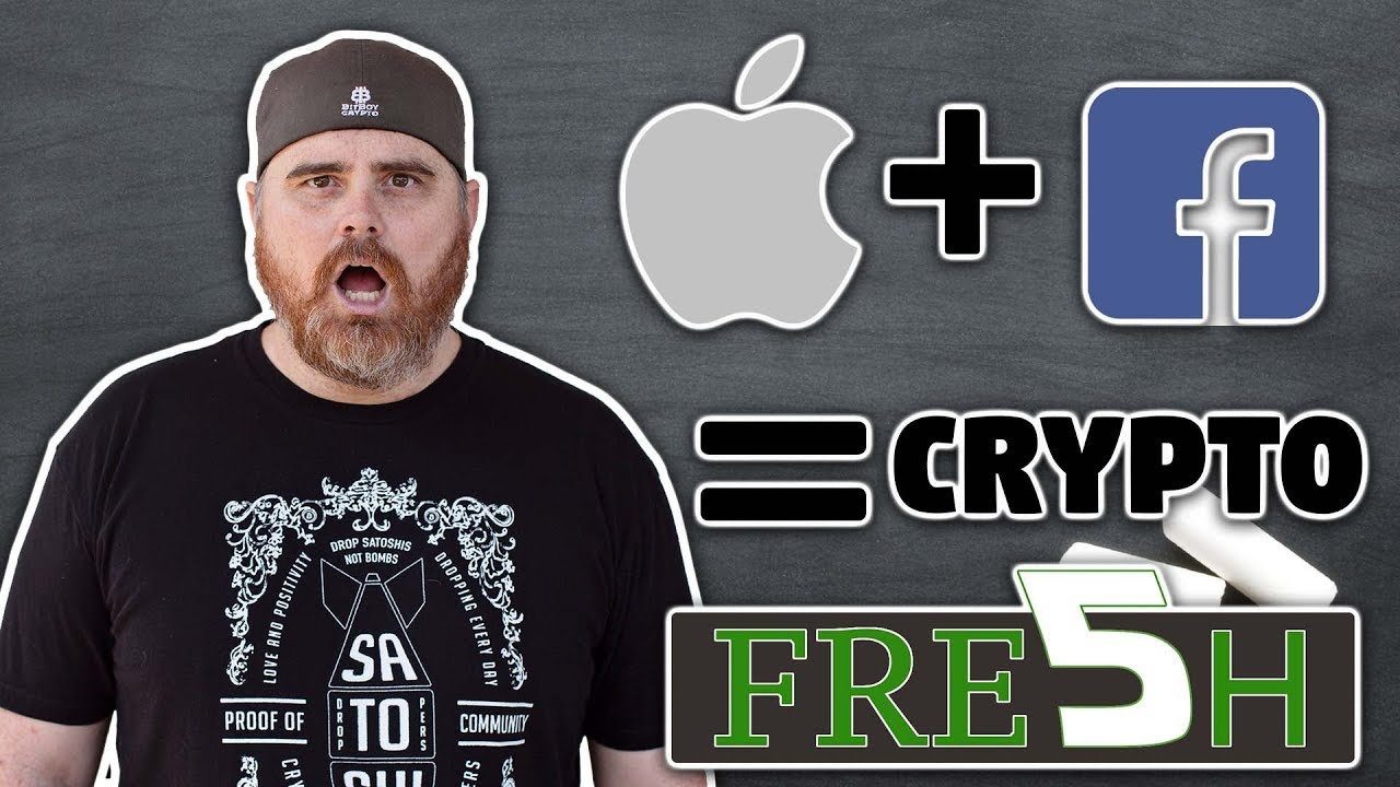 Apple Officially in Crypto | Facebook ATMs | Bitcoin to $20k Because    | $XRP $IOST