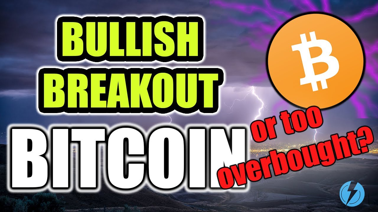 BITCOIN BREAKOUT BEGINNING? - BTC WEEKLY OVERBOUGHT