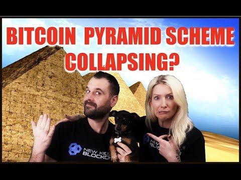 BITCOIN PYRAMID SCHEME COLLAPSING? CRYPTO MARKET RECOVERING?