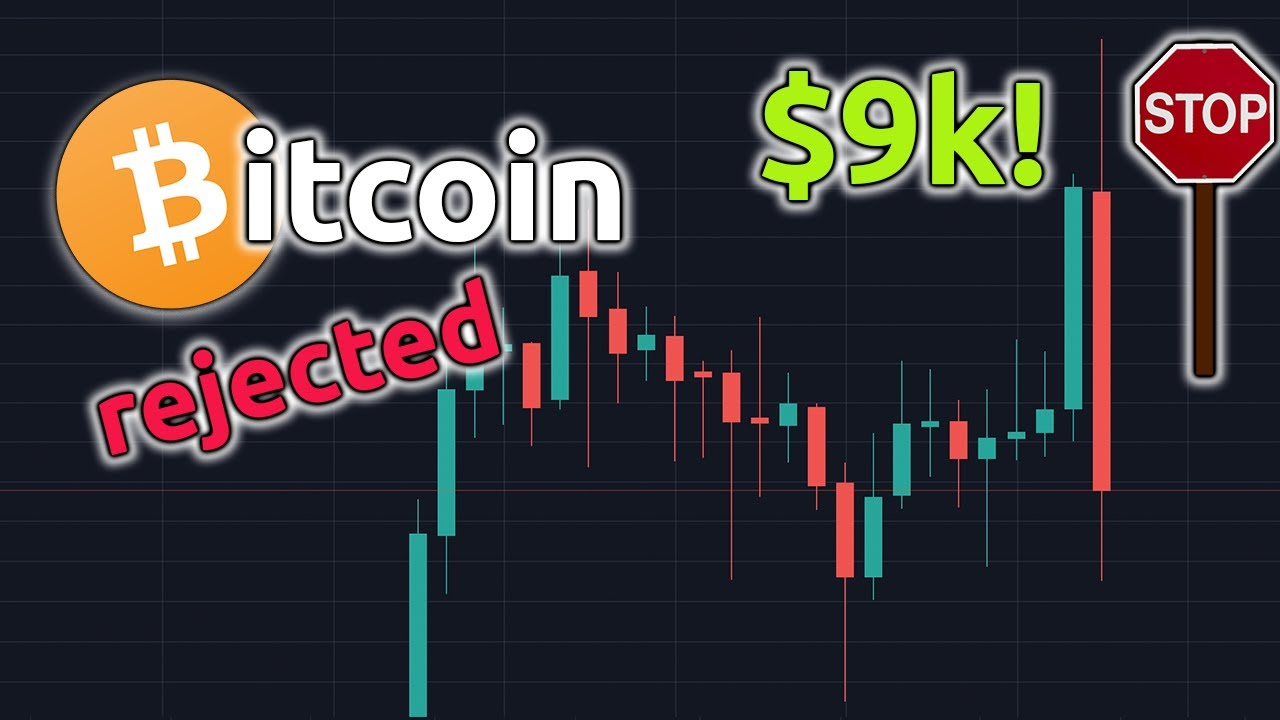 BITCOIN REJECTED at $9k | BTC Price Update