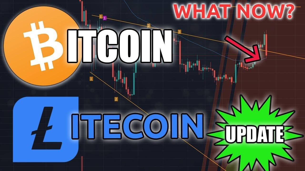 BITCOIN & LITECOIN DOWN | What Next?