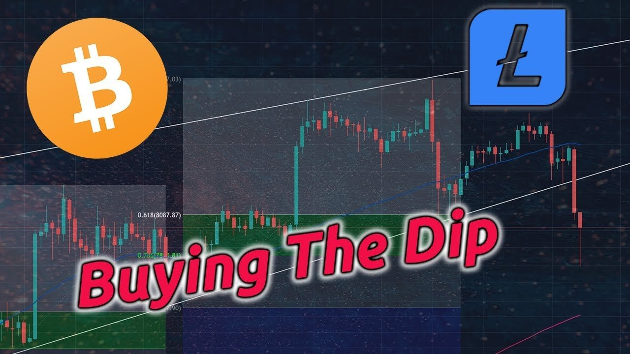 BITCOIN & LITECOIN LIVE | BTC Price Dips Below $8k