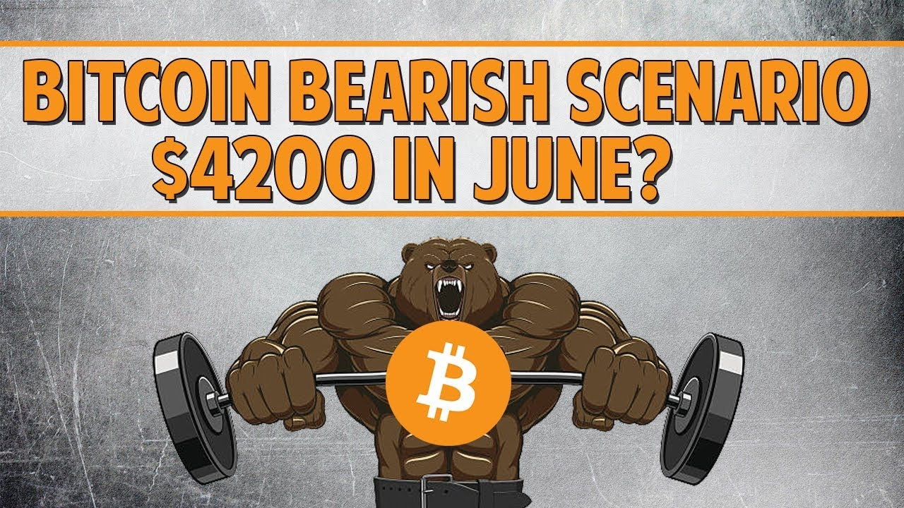Bearish Case For Bitcoin - $4200 By June?