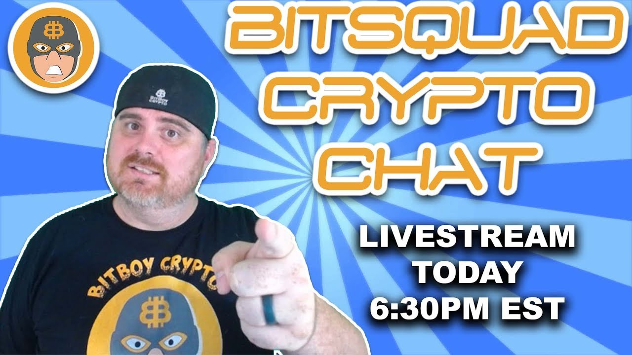 BitSquad Crypto Chat - Heading to SF for Nitron | BitBoy Crypto Livestream