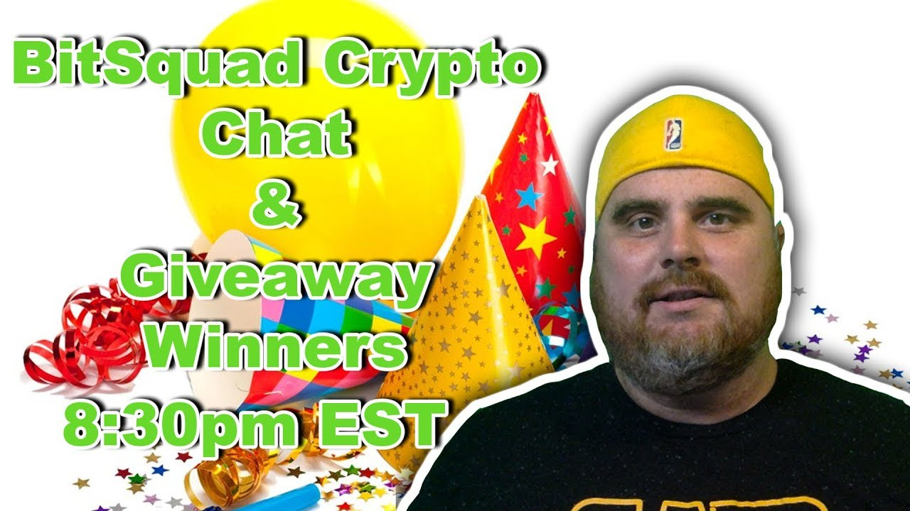 BitSquad Crypto Chat and Giveaway Winners | BitBoy Crypto Livestream