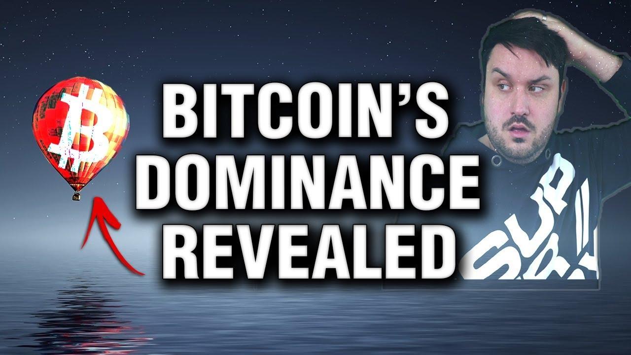 Bitcoin 's True Market Dominance  - Revealed