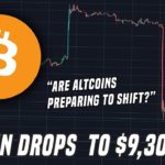 Bitcoin Drops 5% | Are Altcoins Preparing To Shift?