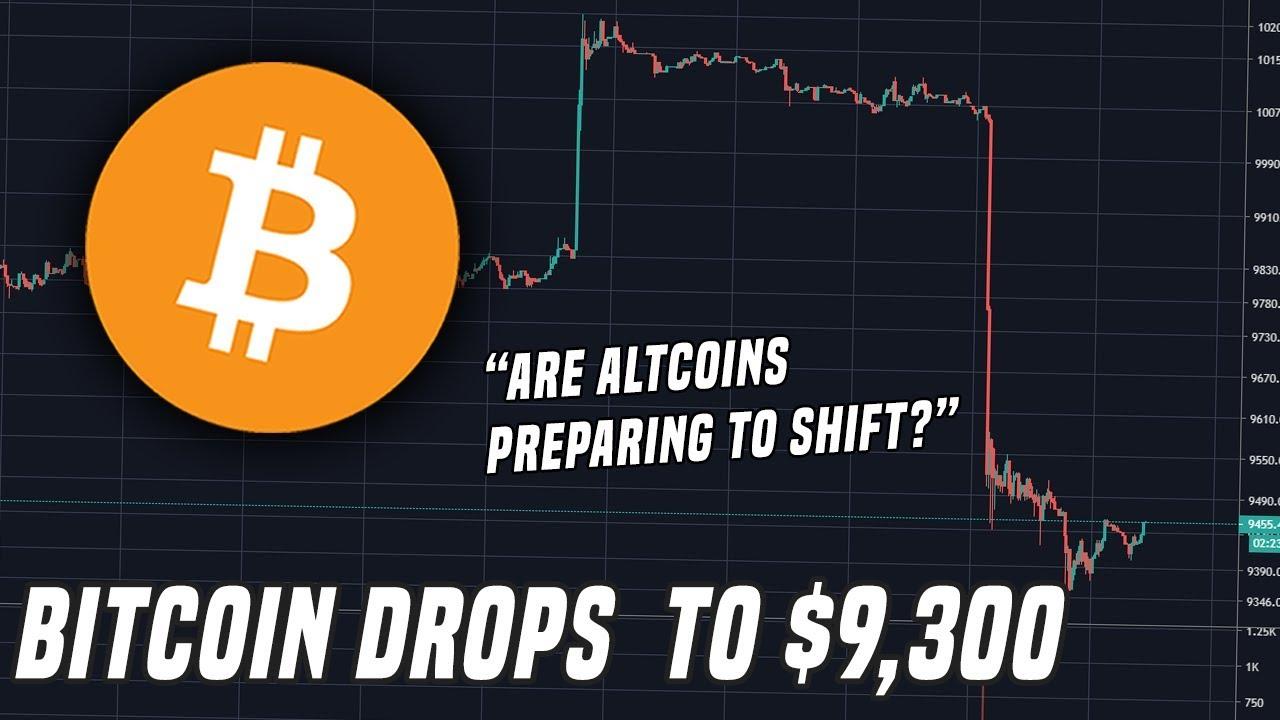 Bitcoin Drops 5% | Are Altcoins Preparing To Shift?