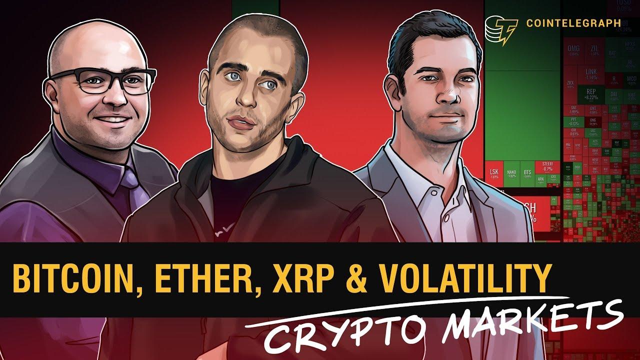 Bitcoin, Ether, XRP & Volatility   Crypto Markets