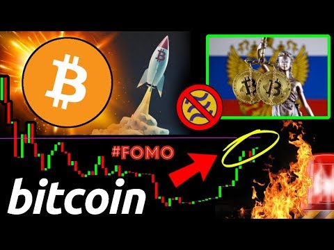 Bitcoin FOMO TRIGGER! Russia to LEGALIZE CRYPTO... but NOT FACEBOOK LIBRA?!? ?