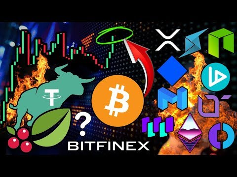 Bitcoin Holds Strong! Time for Another ALTCOIN BOOM? Bitfinex Token IEO?! NEO 3.0 V-ID Verification