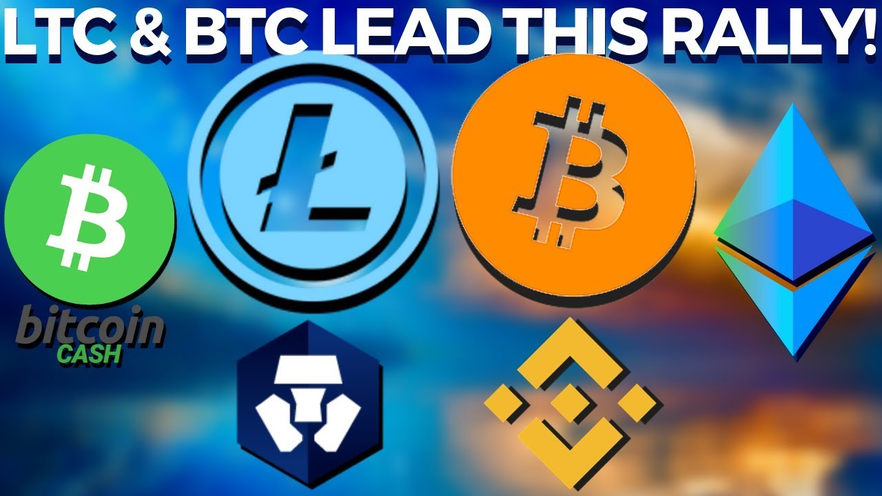 Bitcoin OVER $10K Again, LITECOIN Leading Altcoins! Binance and MCO Updates!