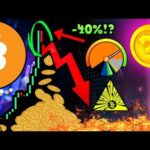 Bitcoin SELL OFF! 40% DUMP Incoming?!? The REAL Reason ALTCOINS WILL Explode!