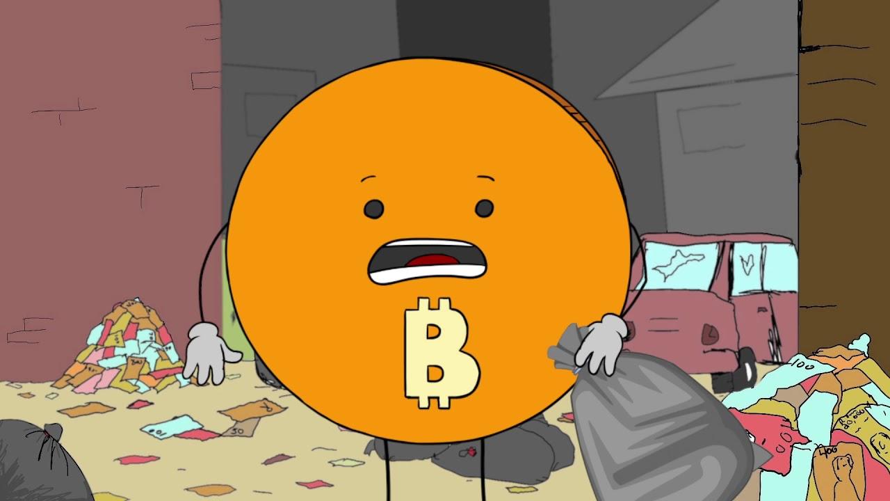Bitcoin doing the #TrashTag challenge