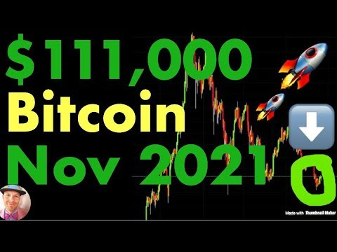 Bitcoin's Next Top Will Be Nov, 2021 at $111,000