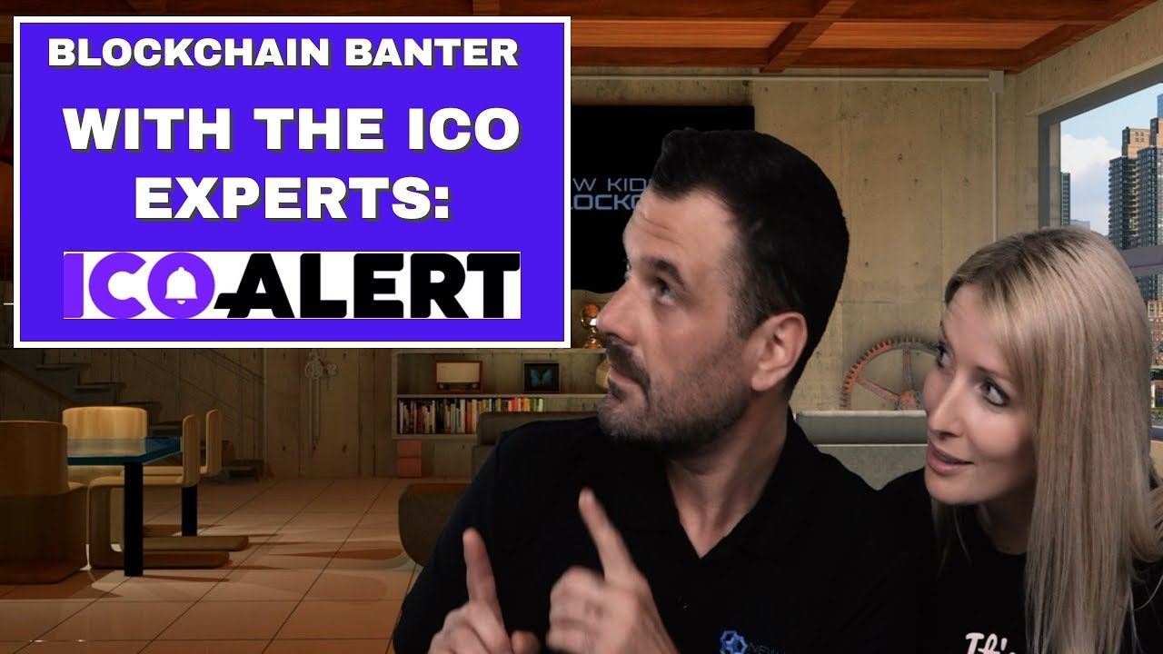 Blockchain Banter: ICO NEWS, CRYPTO & EOS AIRDROP CHAT with ICO ALERT