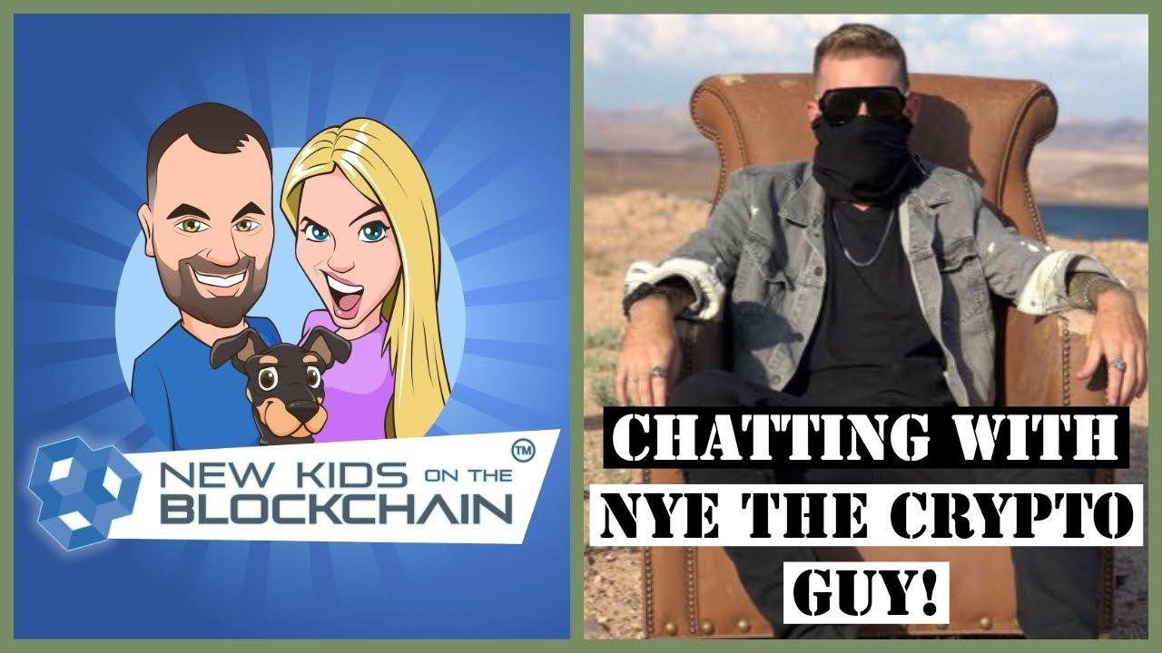 Blockchain Crypto Banter - Nye The Crypto Guy talking Bitcoin, ICOs, STOS and the market
