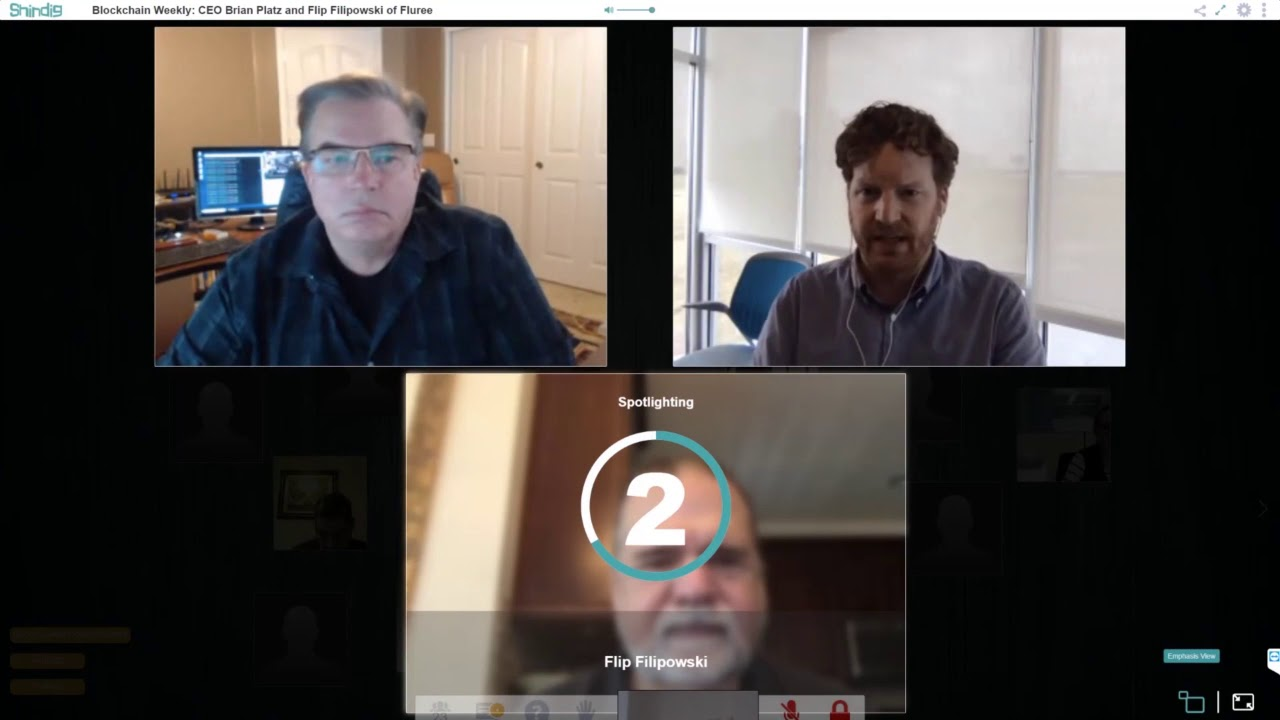 Blockchain Weekly this week CEO Brian Platz and Flip Filipowski of Fluree