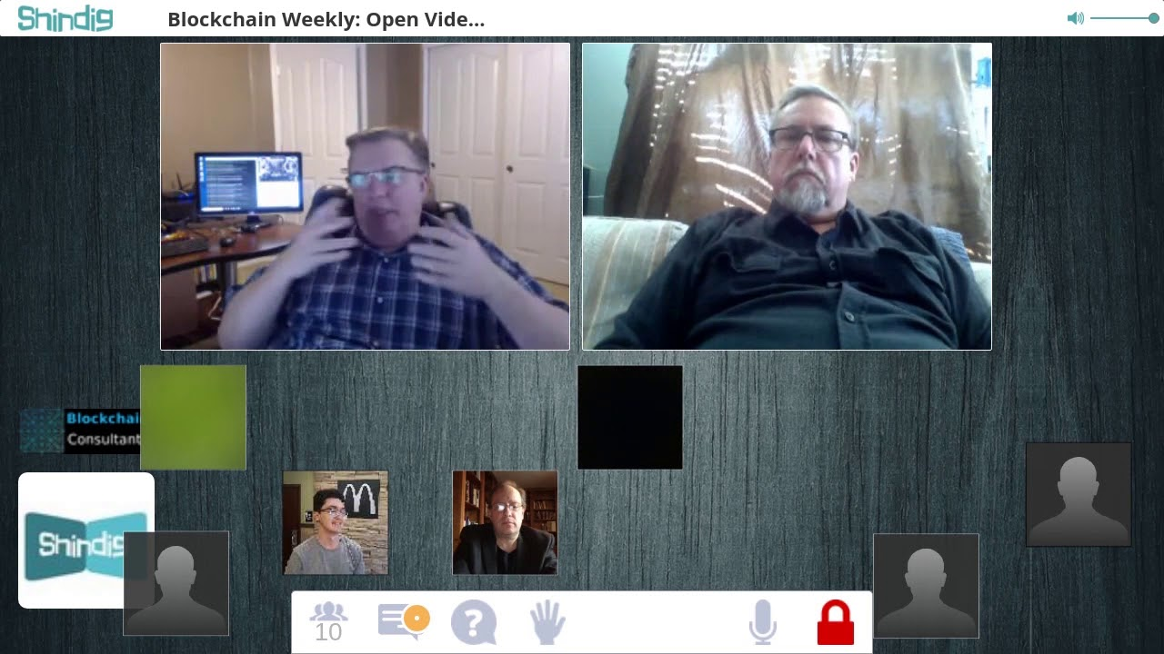 Blockchain Weekly this week John Crockett CTO Blockchain Consultants