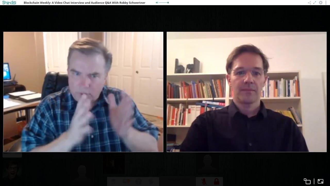 Blockchain Weekly this week Robby Schwertner