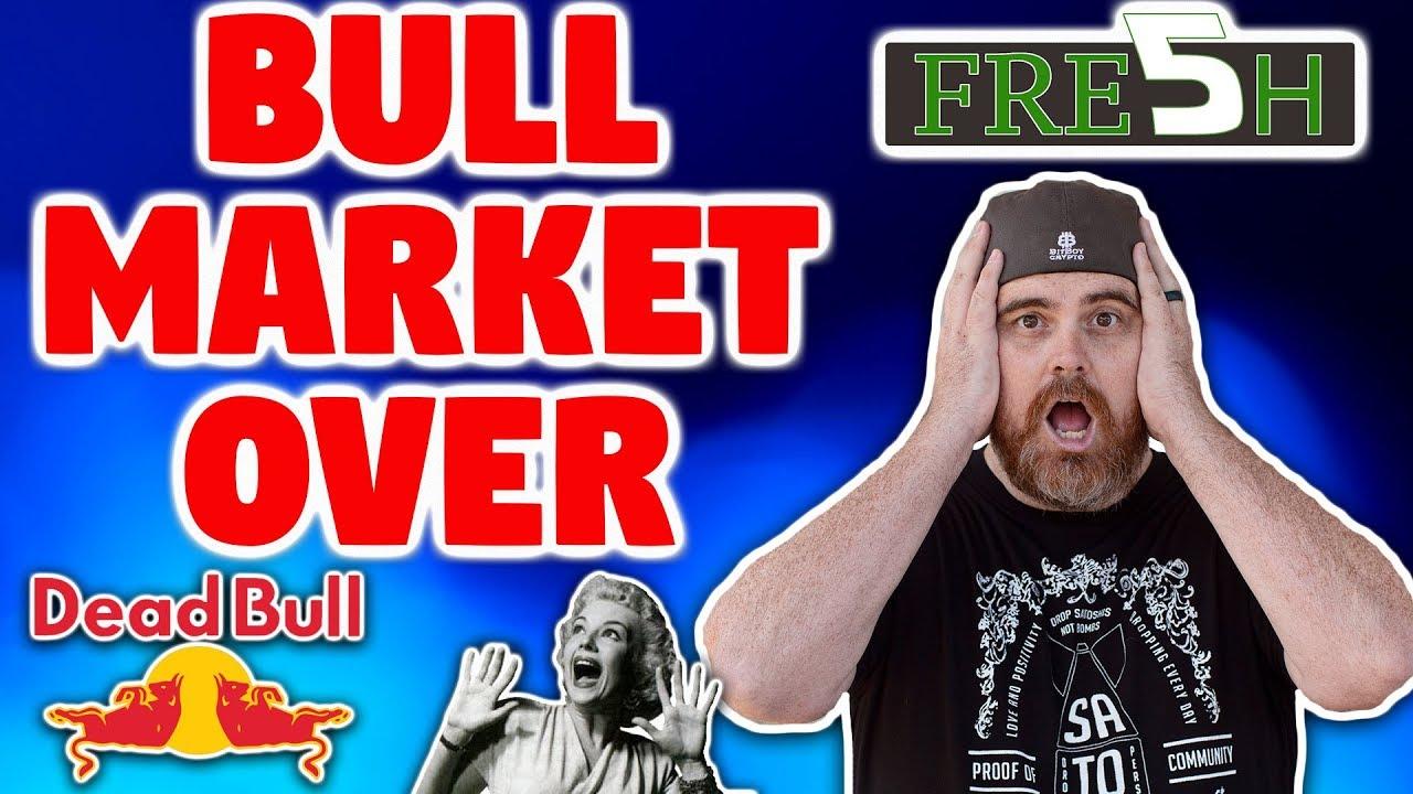 Bull Market Already OVER? | Crypto Heads to Washington | Congressman Likes Bitcoin | IOST News