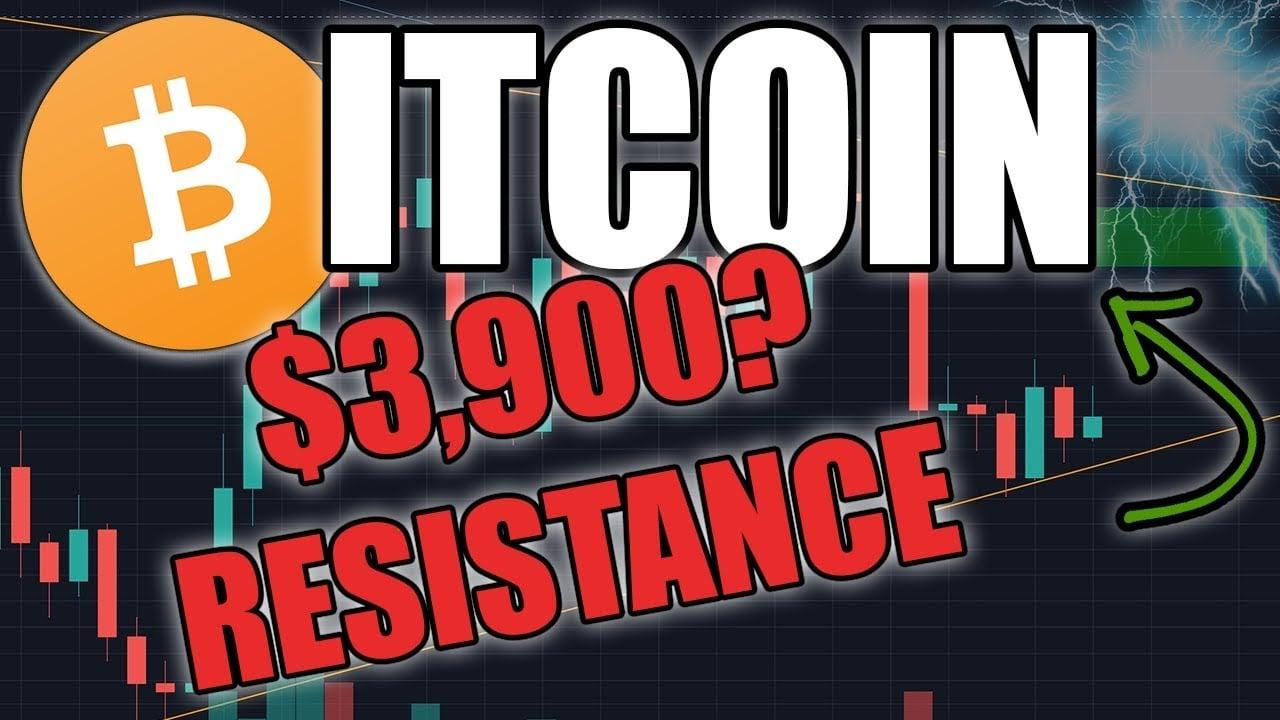 CAN BITCOIN BREAK $3,900? | BTC Price Update