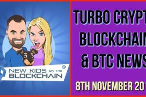 CRYPTO BLOCKCHAIN BTC NEWS 8th NOV. BTC , XRP, ETH , EOS and MORE!