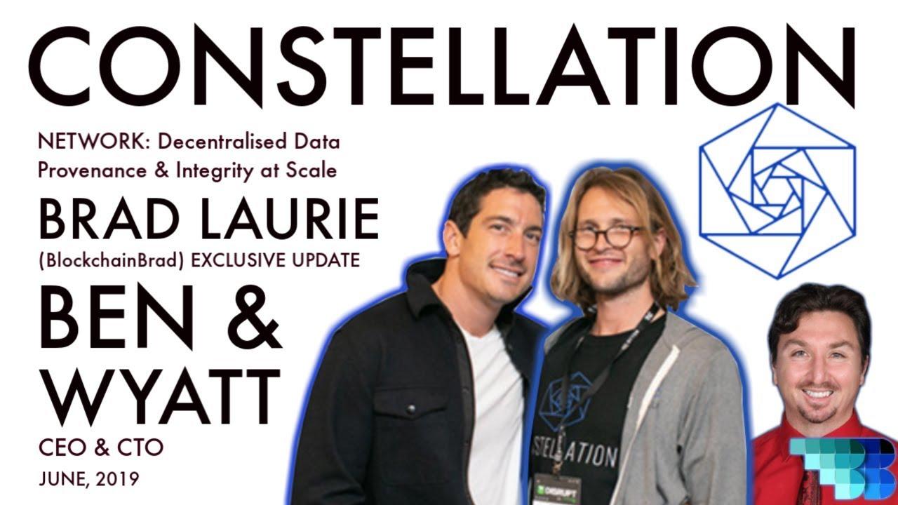 Constellation Labs Update | BlockchainBrad | Crypto Interview | DAG | Enterprise | Data Provenance
