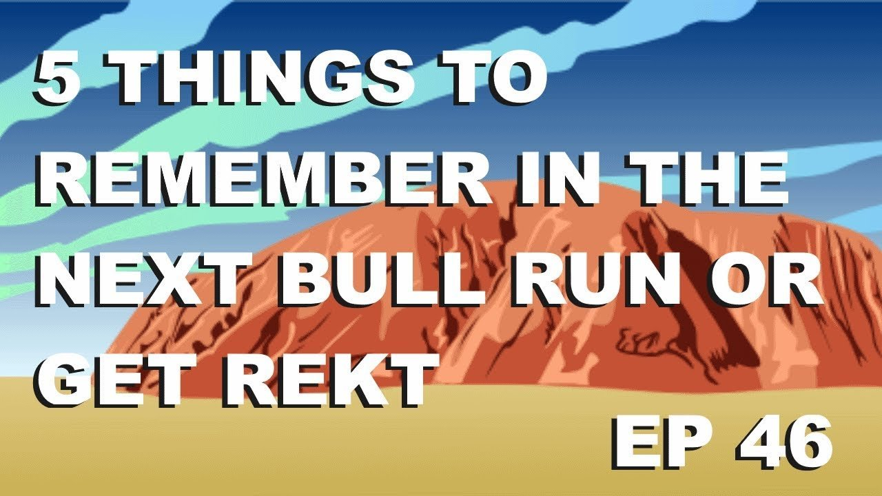 """Craving Crypto EP 46 """"Remember these 5 things for the next bull run! or get rekt"""""""