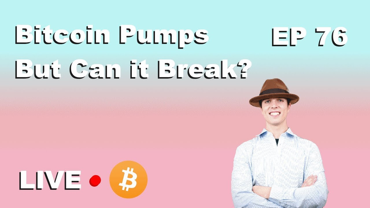 """Craving Crypto EP 76 """"Bitcoin Pump But Can it Breakout?"""""""