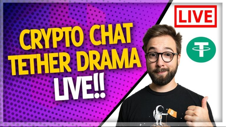 Crypto Chat with BitBoy, Crypto Love, Crypto Stache, & Crypto Beadles (TETHER Drama?!)