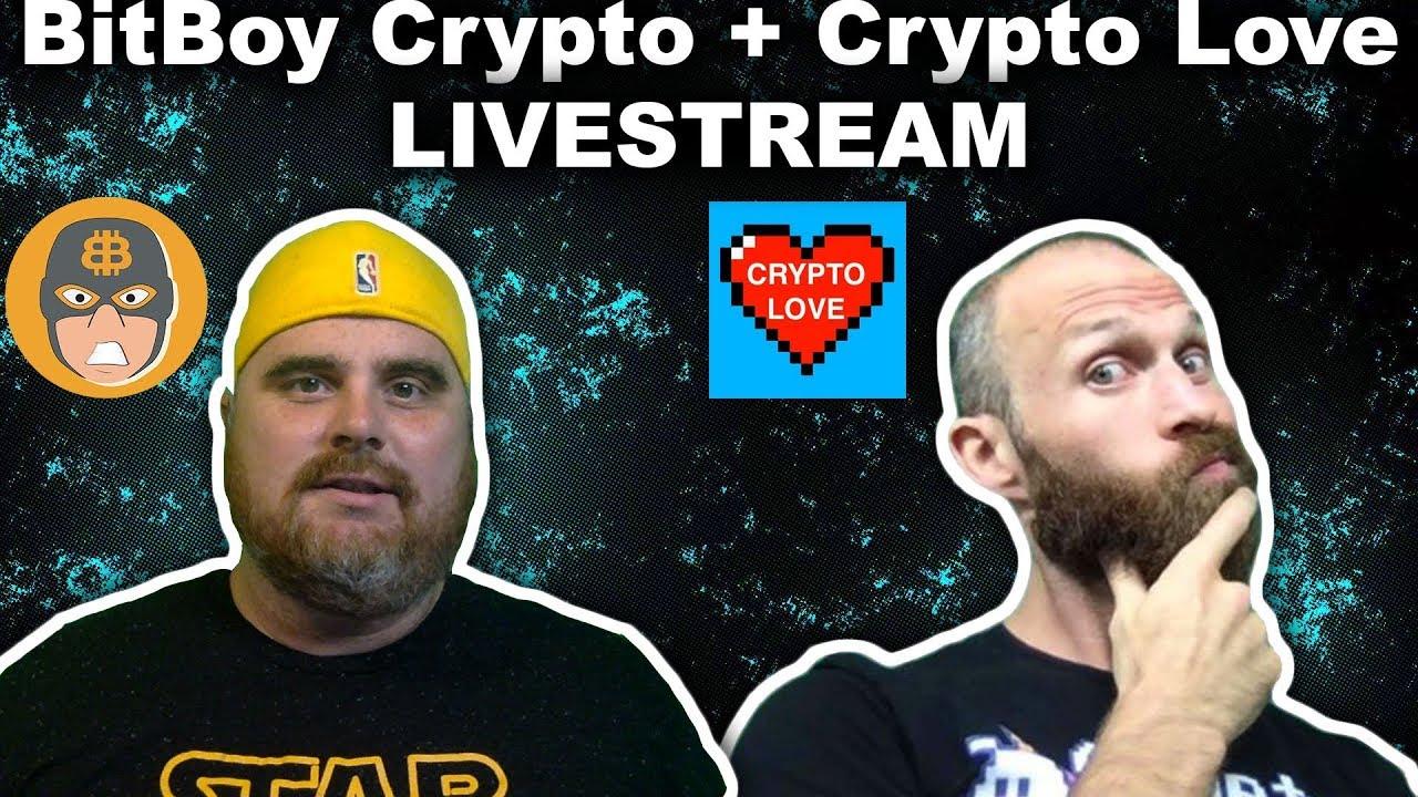 Crypto Love Joins the Stream! ETFs, Coinbase, More   BitBoy Livestream