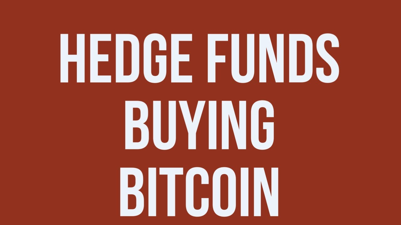 Demand is RISING for BITCOIN ! Hedge Funds Buying!