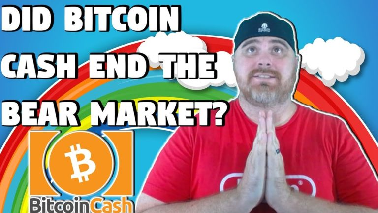 Did Bitcoin Cash Just End the Bear Market?   Government Confident in BTC?