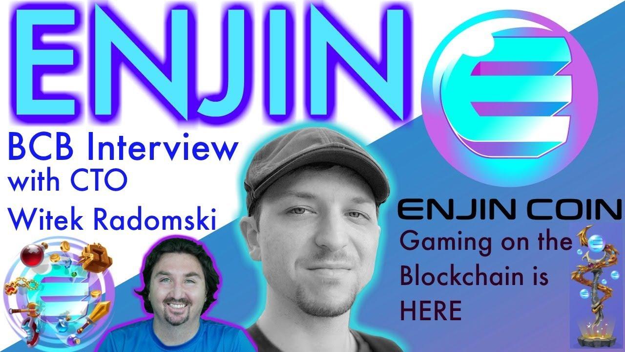 Enjin CTO interview | Modular Gaming Platform | BlockchainBrad | Crypto News