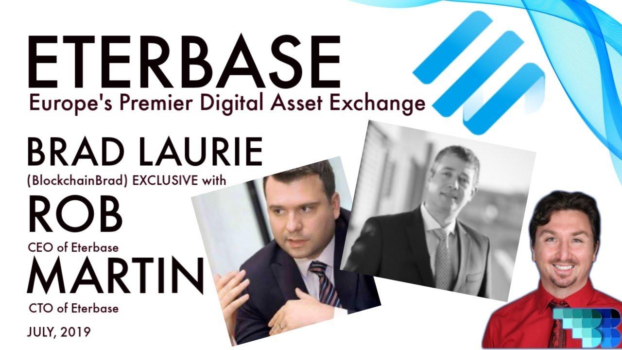 Eterbase | BlockchainBrad | Europe's Premier Digital Asset Exchange | XBASE | StableCoin | AMLD5