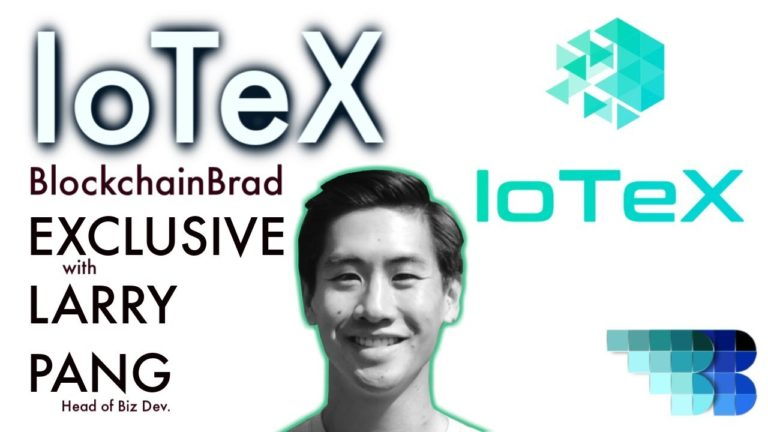 Exclusive IoTeX Update | BlockchainBrad | Privacy-centric Blockchain | Next Gen. IoT