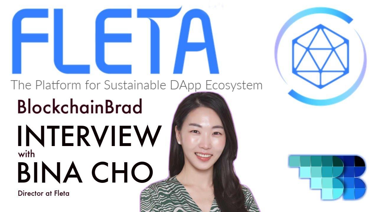 FLETA   Firstchain   BlockchainBrad   Crypto Interview   Sustainable DApp Blockchain Platform