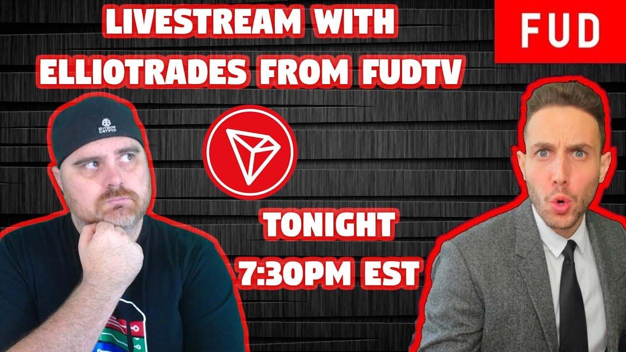 FUD TV Interview | Tron Chat & EVO | BitBoy Crypto Livestream