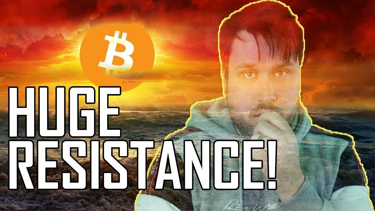 HUGE Bitcoin Resistance! Is a Dip Now Natural?