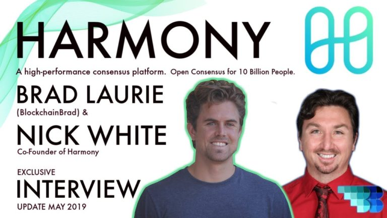 Harmony Update | Next Generation Sharding-Based Blockchain | BlockchainBrad | Binance IEO